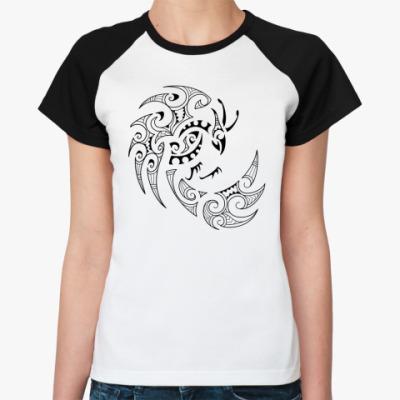 Женская футболка реглан Фэнхуан