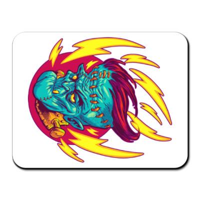 Коврик для мыши Франкенштейн в огне