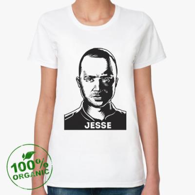 Женская футболка из органик-хлопка Джесси