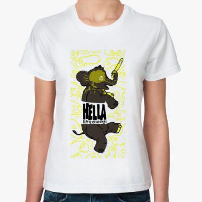 Классическая футболка 'Уяяяя'