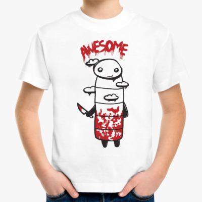 Детская футболка Устрашающий