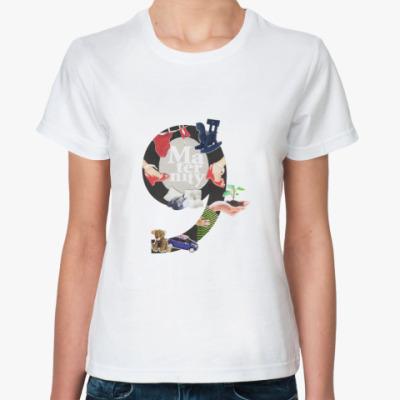 Классическая футболка Maternity
