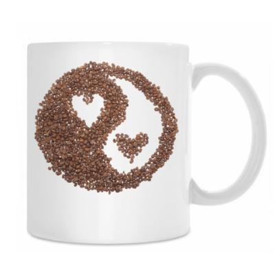 Инь-янь из кофе