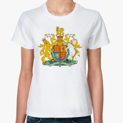 Классическая футболка Герб Великобритании