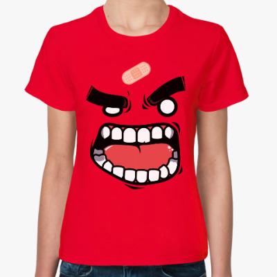 Женская футболка Монстр