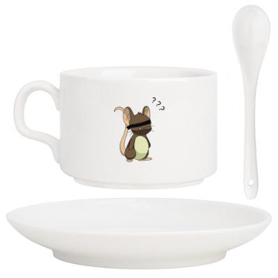 Кофейный набор Мышь