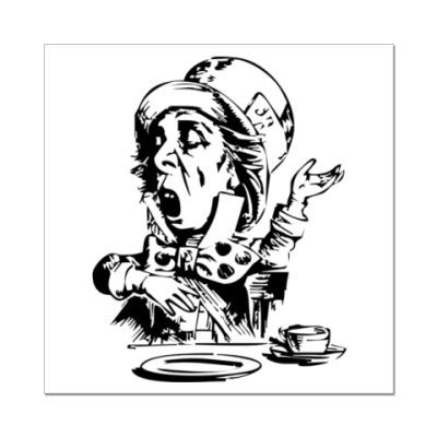Наклейка (стикер) Сумасшедший Шляпник