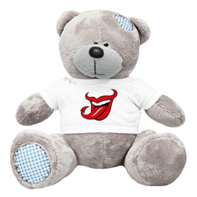 Плюшевый мишка Тедди Язык дьявола