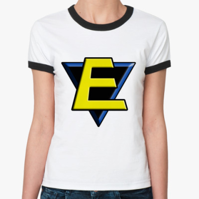 Женская футболка Ringer-T E  Ж()