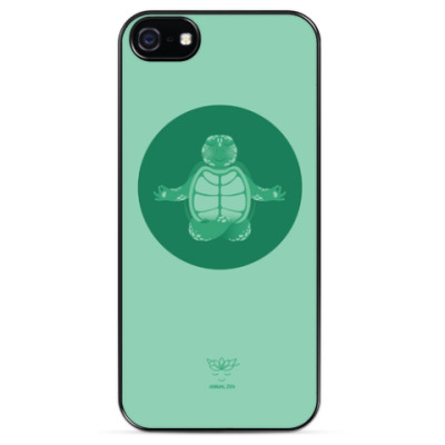 Чехол для iPhone Animal Zen: T is for Turtle