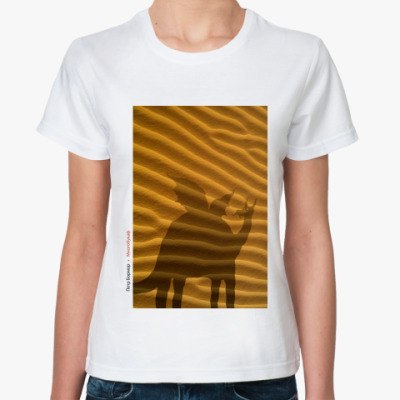 Классическая футболка  Бормор 1 (жен)