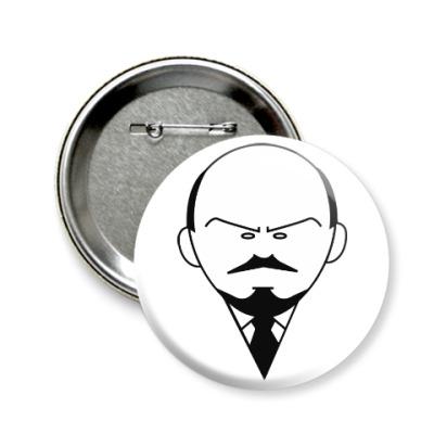 Значок 58мм Ленин