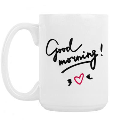 Кружка Good morning/Доброе утро