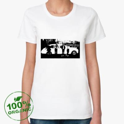 Женская футболка из органик-хлопка The Beatles