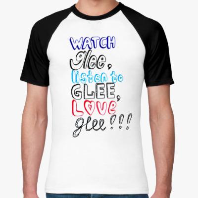 Футболка реглан Glee