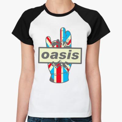 Женская футболка реглан Oasis