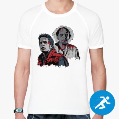 Спортивная футболка Back to the dead