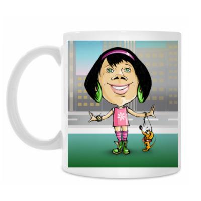 Кружка Дама с собачкой