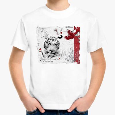 Детская футболка Tiger in love
