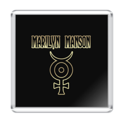 Магнит Marilyn Manson