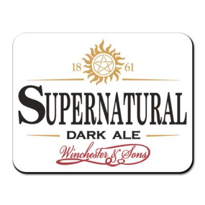Коврик для мыши Supernatural - Темный эль