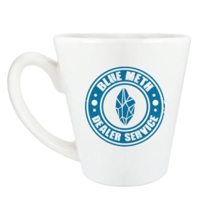 Чашка Латте Blue Meth Dealer