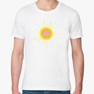 Футболка из органик-хлопка  Sun