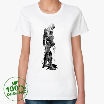 Женская футболка из органик-хлопка Assassin