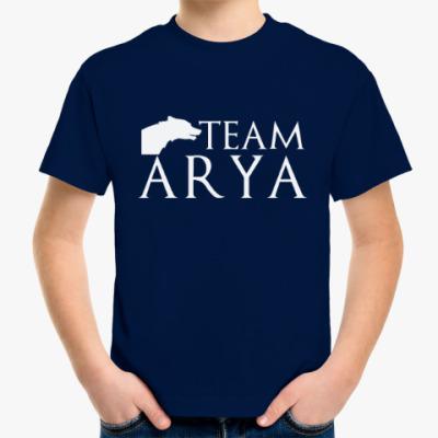 Детская футболка Команда Арии
