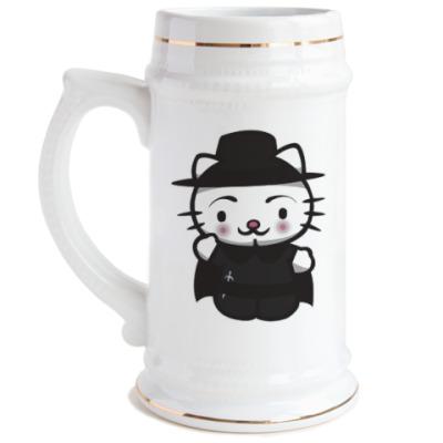 Пивная кружка Kitty Vendetta