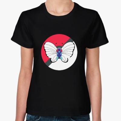 Женская футболка Pokemon Butterfree