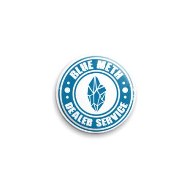 Значок 25мм Blue Meth Dealer