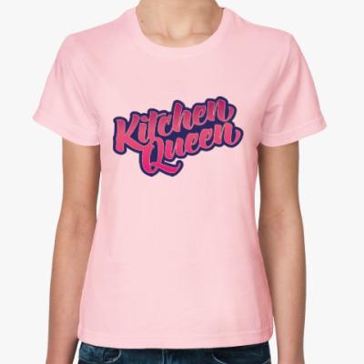Женская футболка Королева кухни