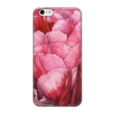 Чехол для iPhone 6/6s Тюльпан акварель