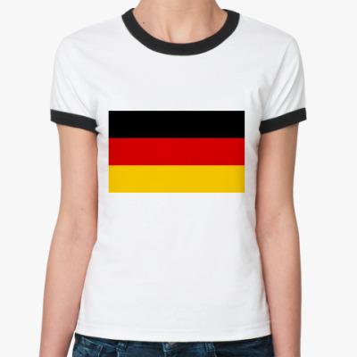 Женская футболка Ringer-T  Германия
