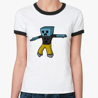 Женская футболка Ringer-T ' Artel'