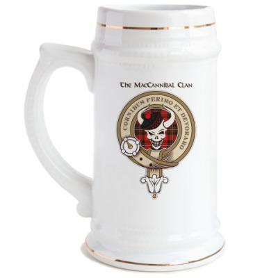 Пивная кружка MacCannibal Ale