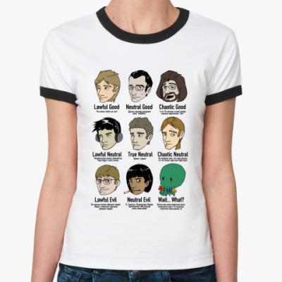 Женская футболка Ringer-T  «Хороший Плохой Злой»