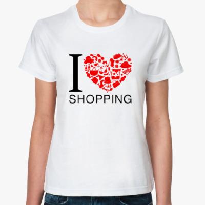 Классическая футболка Шоппинг
