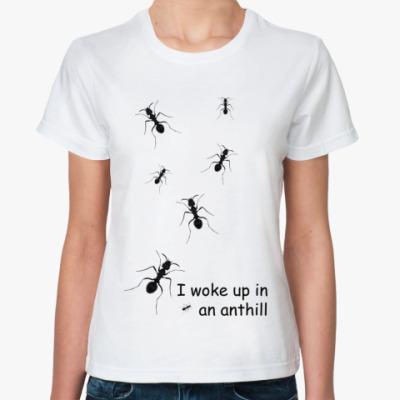 Классическая футболка Муравьи