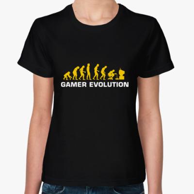 Женская футболка GAMER EVOLUTION