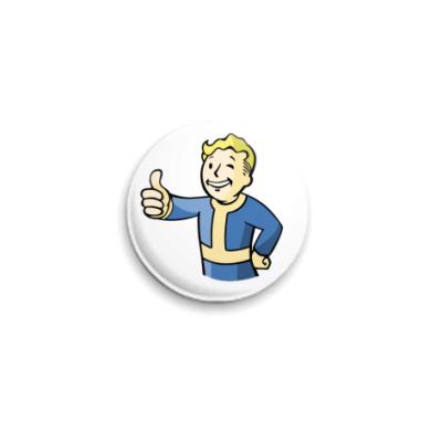 Значок 25мм  «Fallout»