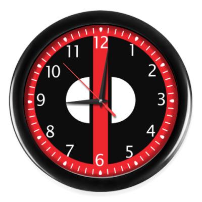 Часы Дэдпул лого.