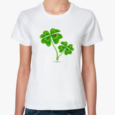 Классическая футболка Клеверы