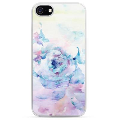 Чехол для iPhone Снежная роза