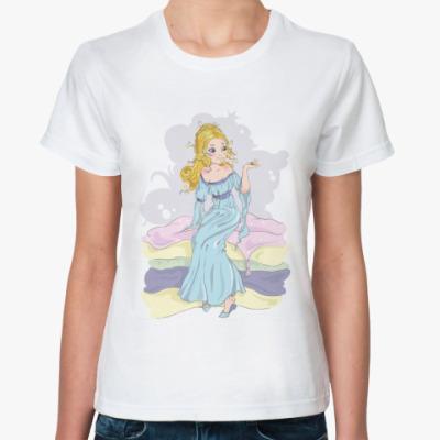 """Классическая футболка  футболка """"Принцесса"""""""