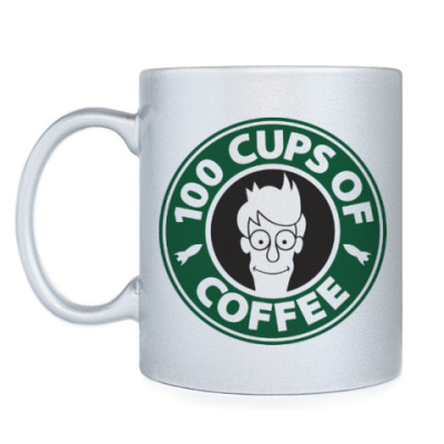 Кружка Futurama coffee Starbucks