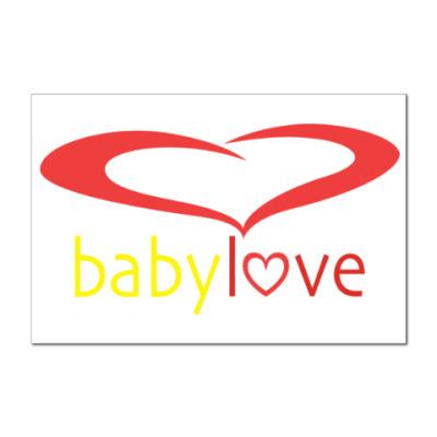 Наклейка (стикер) Baby Love
