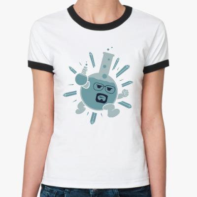 Женская футболка Ringer-T Mr. White