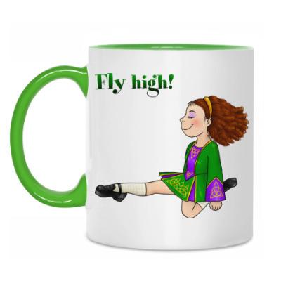 Кружка Fly high!